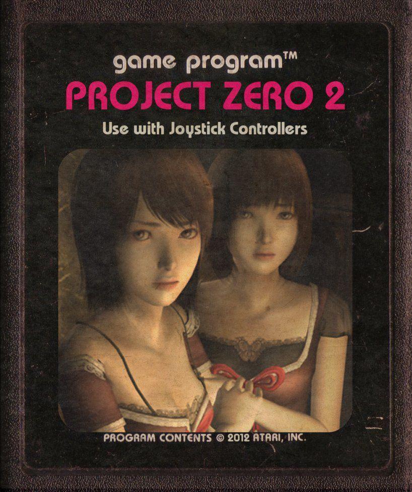 Project Zero 2 (Atari 2600 cartridge art rework) by ~StarRoivas on ...