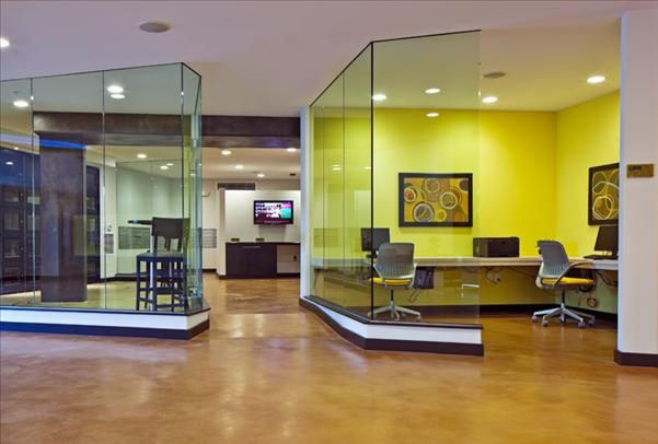 Award Winning Stained Concrete Office Floor Commercial Floors