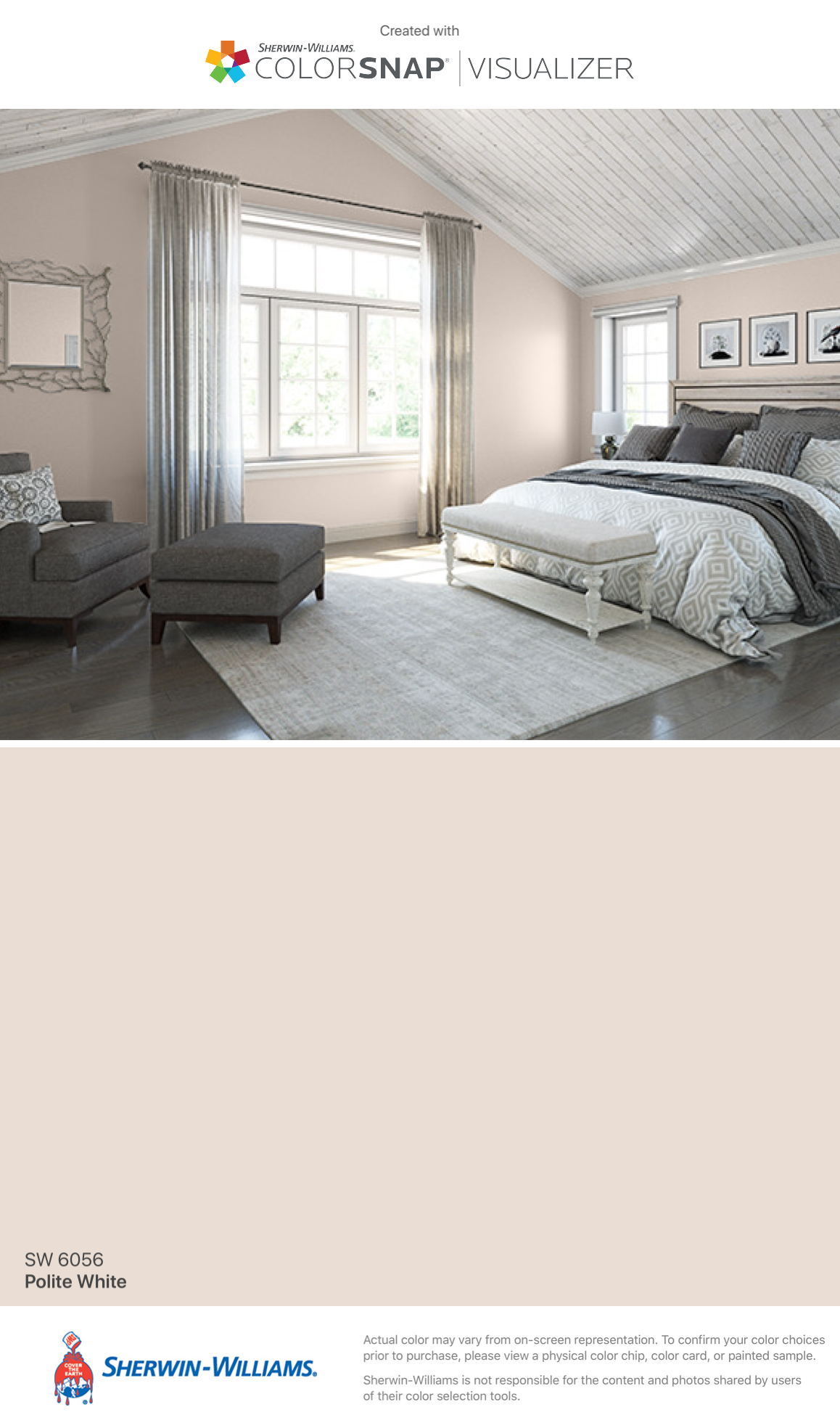 GroB I Found This Color With ColorSnap® Visualizer For IPhone By  Sherwin Williams: Polite