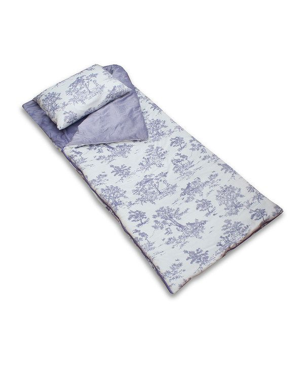 Love This Lavender Toile Sleeping Bag Amp Pillow By Thro On