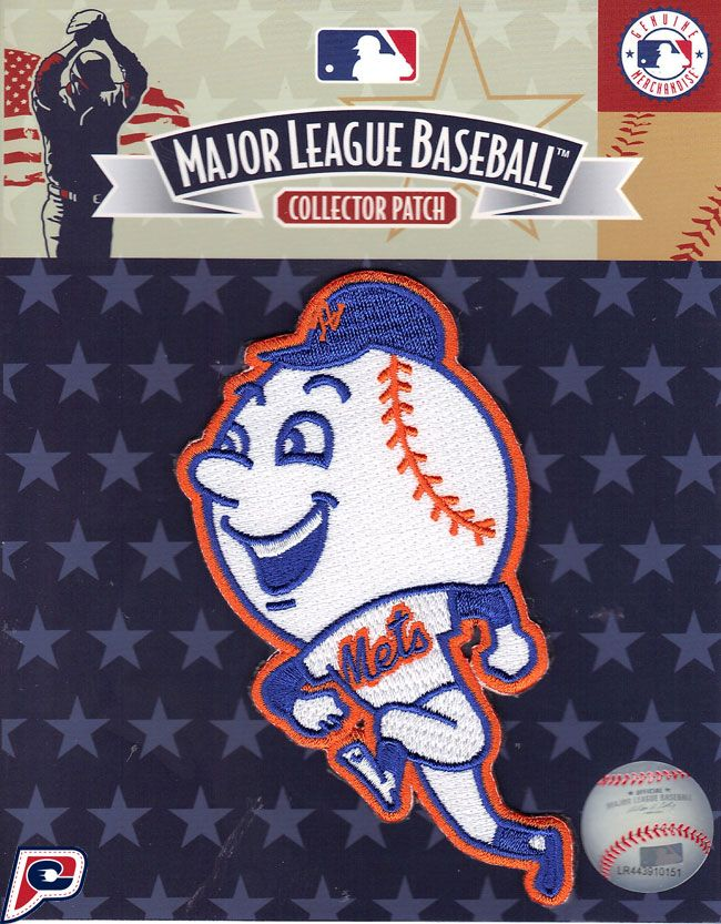 brand new bc695 8e3e4 Mr. Met Skipping Patch! New York Mets | NY Mets | New York ...