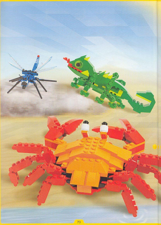 Pin na nástenke LEGO návody