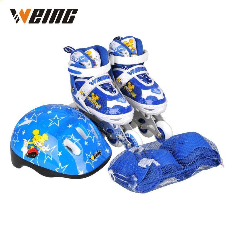 Ems Wysylka Czerwony Niebieski Rozowy Dzieci Lyzwy Buty Rolkowe Buty Do Butow Na Lyzwach Buty Z Kasku Protektora Kids Skates Skate Shoes Shoes