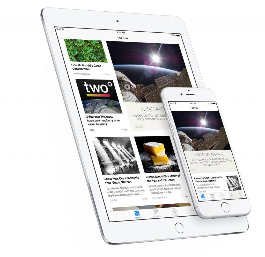 News iOS9