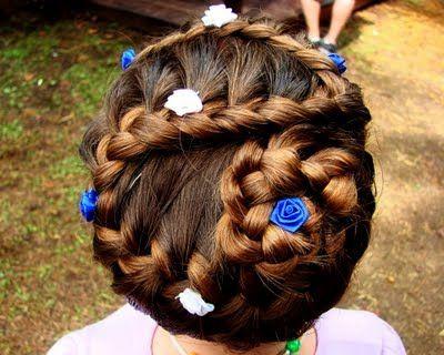 Renaissance Hair Braiding. Cute.   Renaissance hairstyles ...