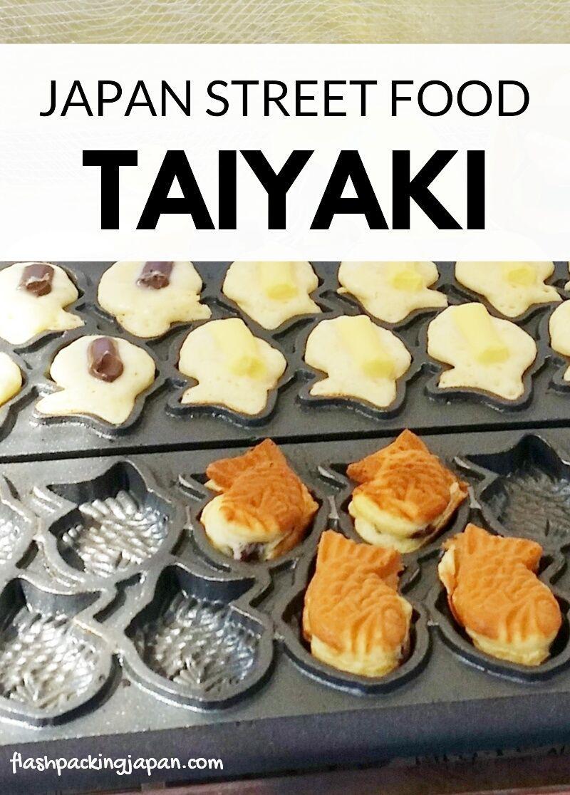 Photo of TAIYAKI – fish-shaped cream-filled waffle cake – Japan street food – Backpacking Japan foodie travel | Flashpacking Japan