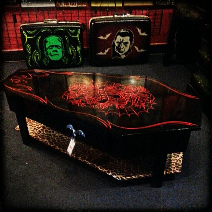 Coffin Coffee Table from Spitfire Interiors Furniture