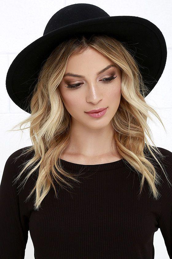 fec6f846c7d032 Rhythm Suffolk Black Hat in 2019 | Lulus | Spring hats, Hats ...