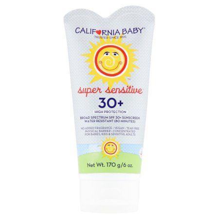 Personal Care Broad Spectrum Sunscreen California Baby Sunscreen