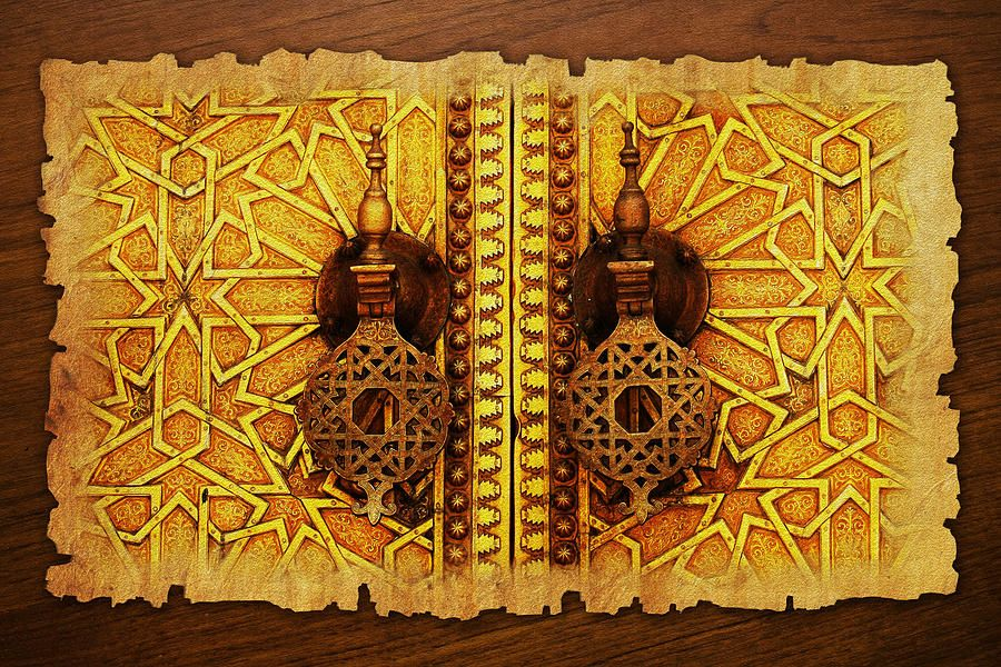 Medina Of Faz Painting by Catf