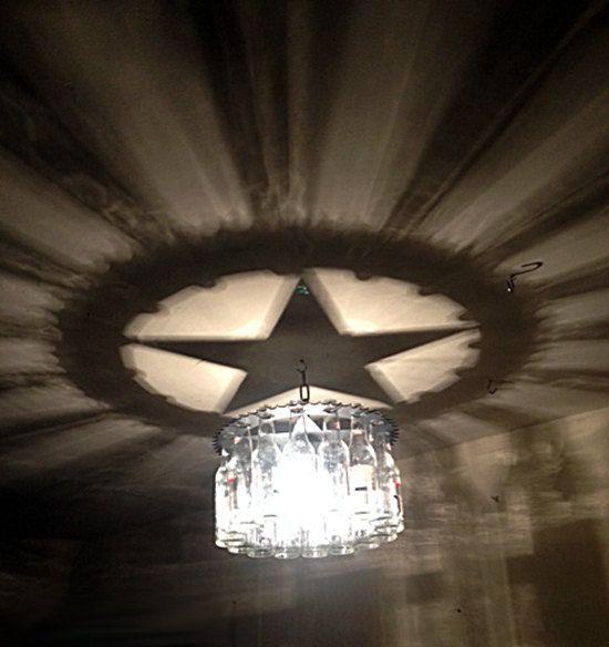 Texas Star Light Bottle Chandelier Home And Living Gift