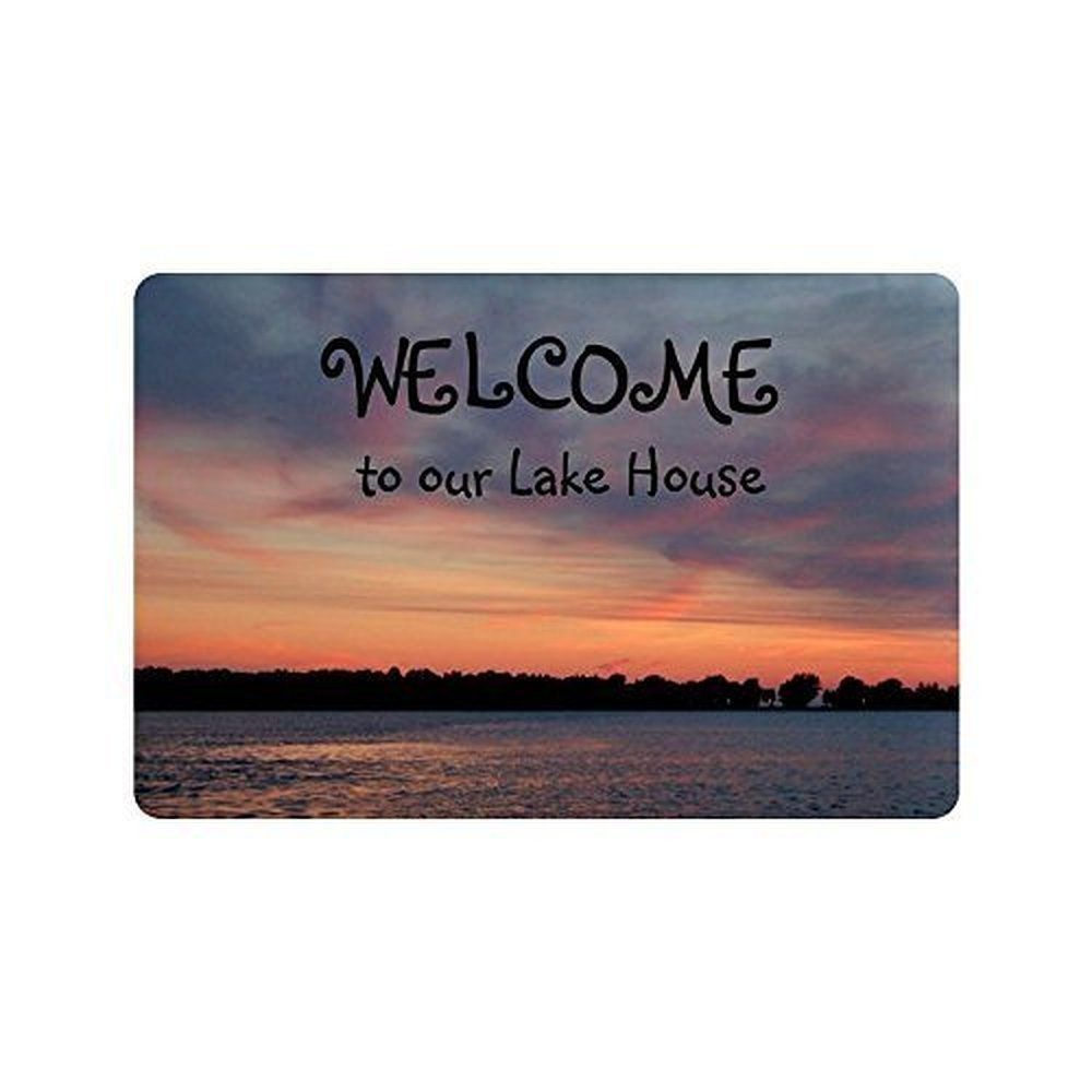 welcome doormat coco en mats mat personalized coir customized vc monogrammed m