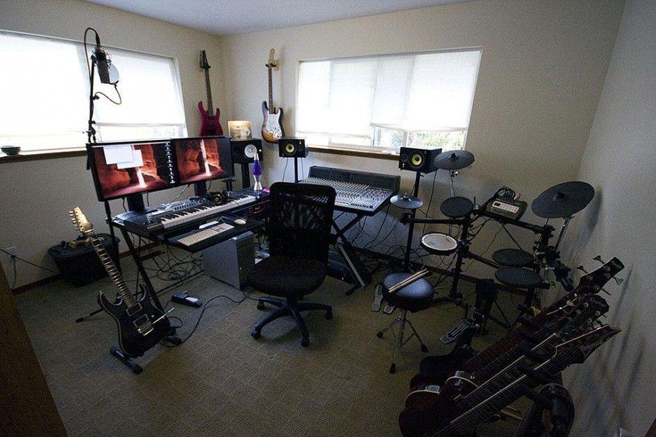 Interior Design Home Music Studio Room Design With Complete Multimedia Set Idea To Making And Designin Music Studio Room Studio Room Design Home Studio Setup