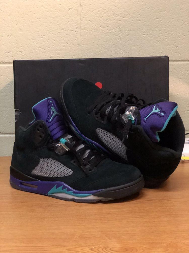 3ac9745ccb1 Nike Air Jordan Retro V 5 Black Grape (Size 12) Taxi Cherry Gamma  fashion   clothing  shoes  accessories  mensshoes  athleticshoes  ad (ebay link)