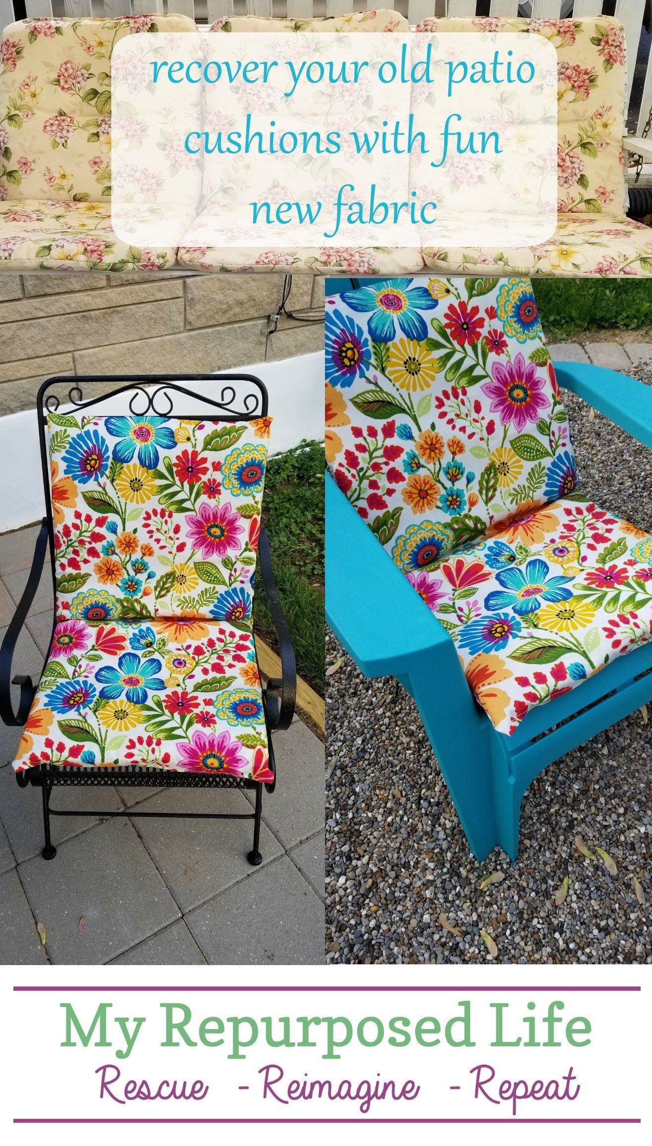 Outdoor Cushion Covers Crafts Diy Patio Cushions Diy Garden