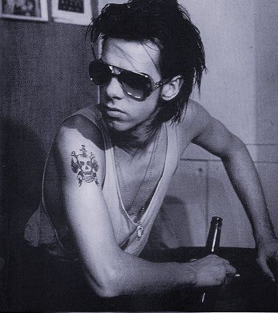 nick cave tattoo picture