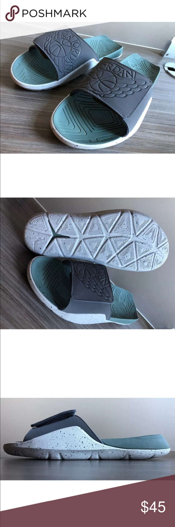 cfcc07741eb3 Men s Nike Air Jordan Hydro 7 Slides NEW AUTHENTIC NIKE Air Jordan Hydro 7  SLIDES COLOR