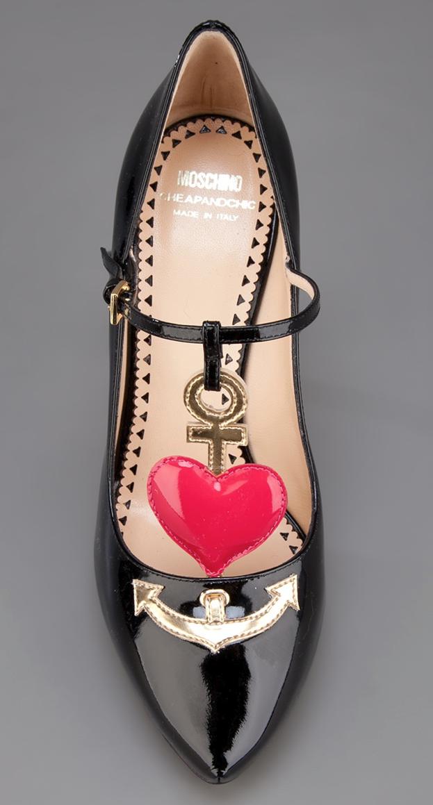 78fa4eb56 Anchor Heels / moschino | Heels | Pinterest | Centopeias, Zapatos e ...
