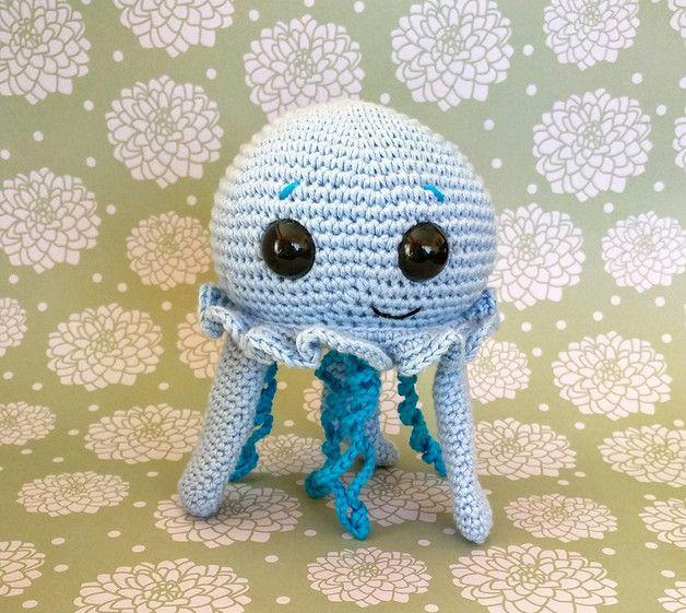 Lujoso Patrón De Crochet Medusas Regalo - Ideas de Patrón de Tejer ...
