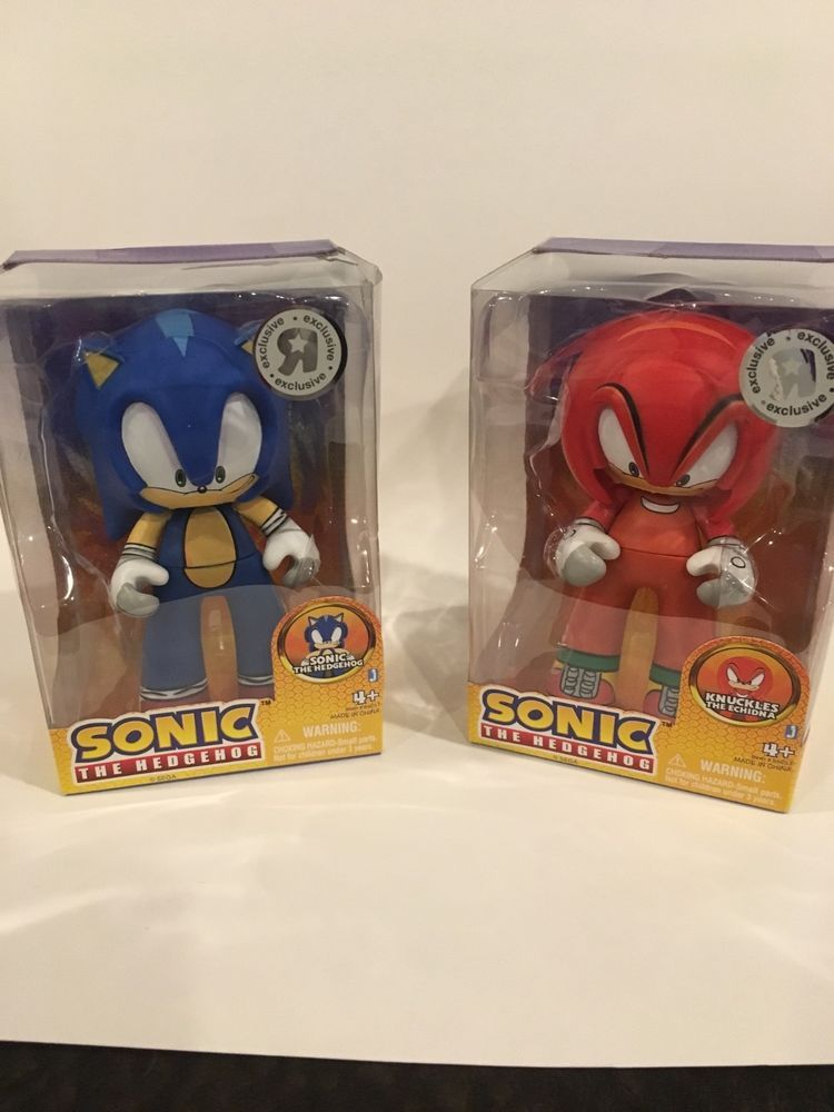 Collectible Sonic Hedgehog And Knuckles Toys R Us Rare Figures Toy R Hedgehog Toys R Us