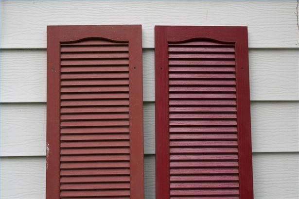 How To Bring The Color Back To Vinyl Shutters Plastic Shutters Paint Vinyl Shutters Vinyl Shutters