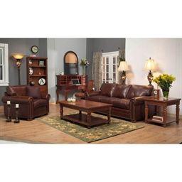 Omnia Savannah Guanaco Leather 82 Sofa