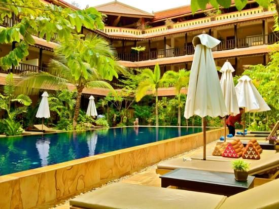 Siddharta Boutique Hotel Siem Reap Cambodia Located Midway Between The Center Of