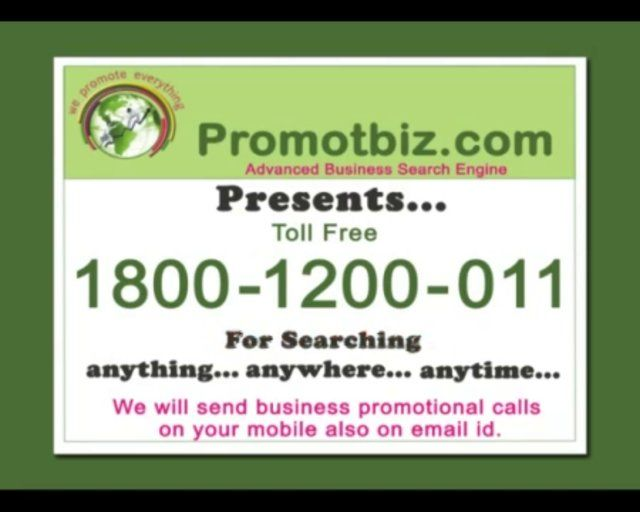 For Searching...anything...anywhere...anytime...  Please Dial (Toll Free) 1800-1200-011  http://promotbiz.com/