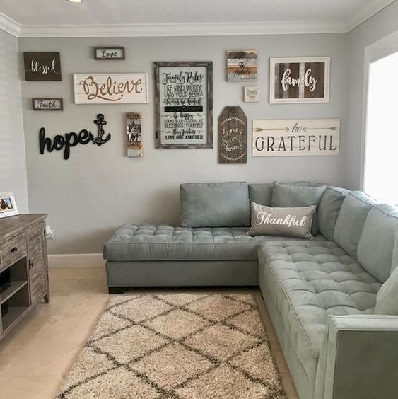 A Large Living Room To Socialise In: 11 Adorable Wall Decorations To Fill Your Blank Space Wall