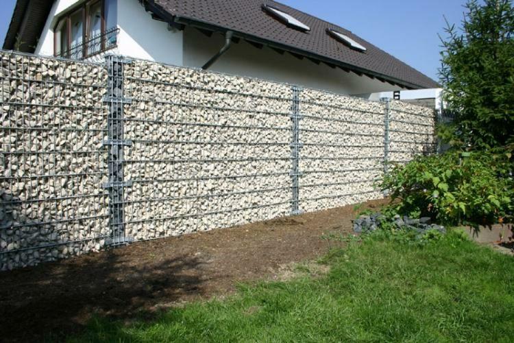 muro de piedras moderno frente pinterest cercas de. Black Bedroom Furniture Sets. Home Design Ideas