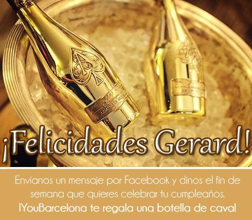 ¡Felicidades Gerard! #YouBarcelona