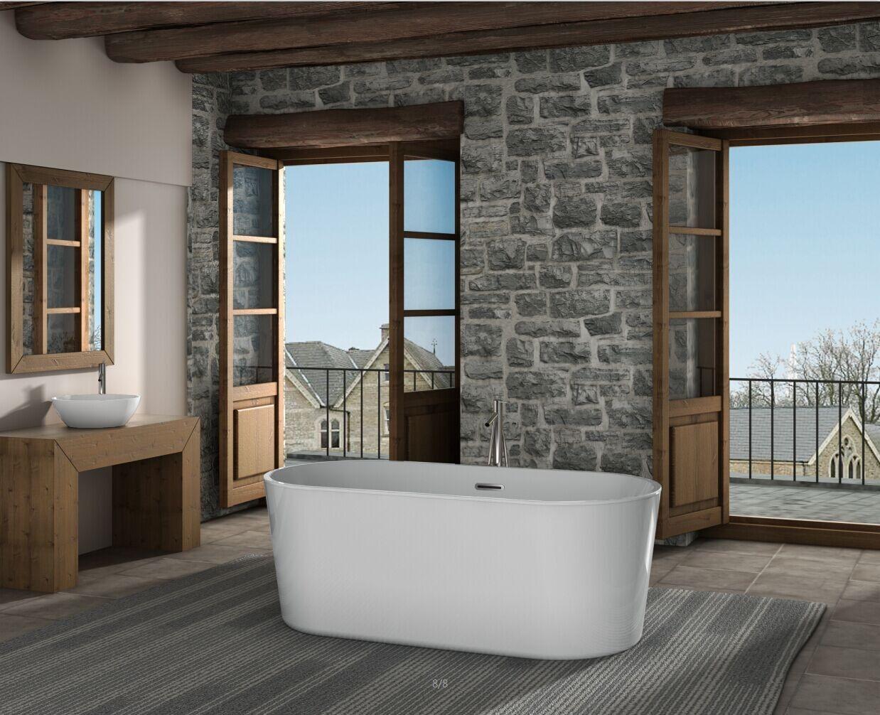 Napoli Oceania Bathroom design, Free standing tub