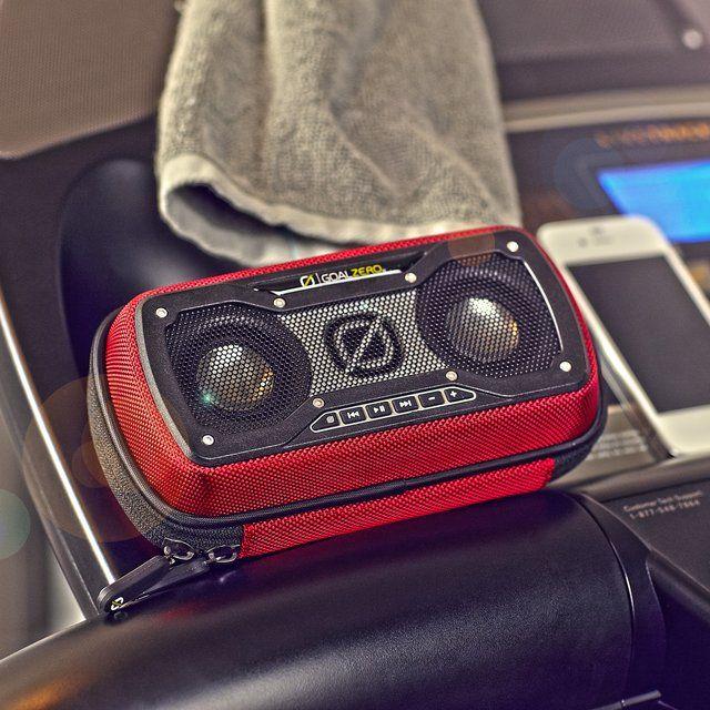 Rock Out 2 Rechargable Speaker By Goal Zero Non Stop Music Rock Tech Gadgets