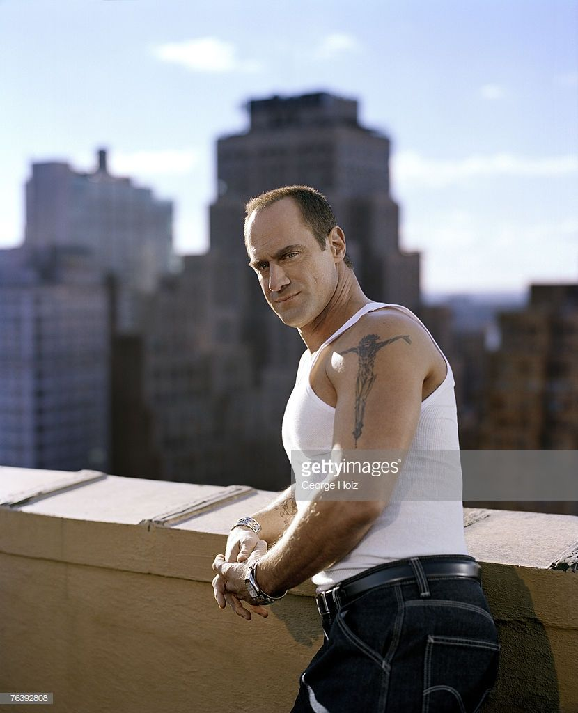 Actor christopher meloni is photographed people magazine