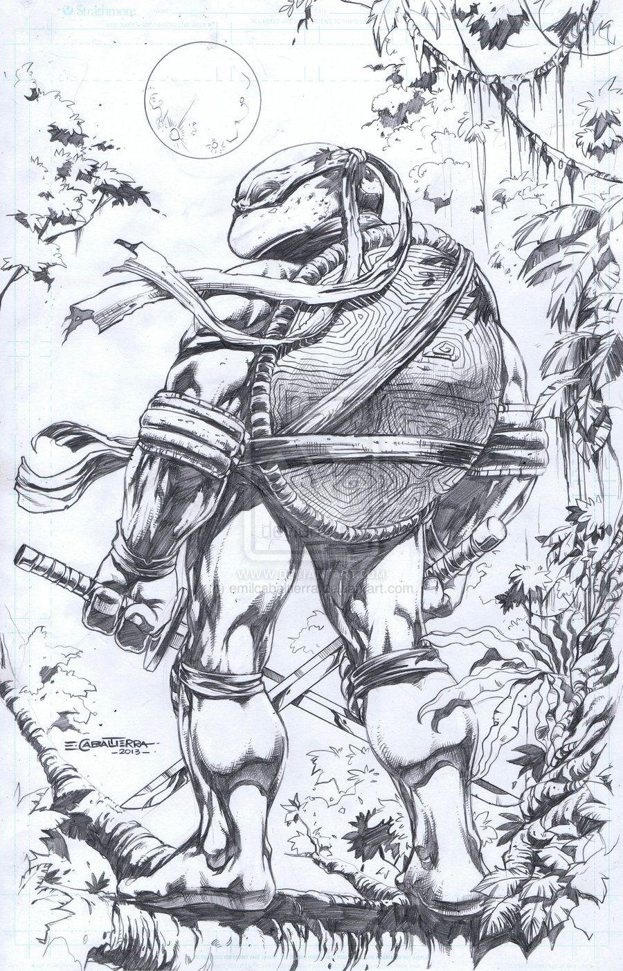 Teenage Mutant Ninja Turtles - Leonardo by Emil Cabaltierra
