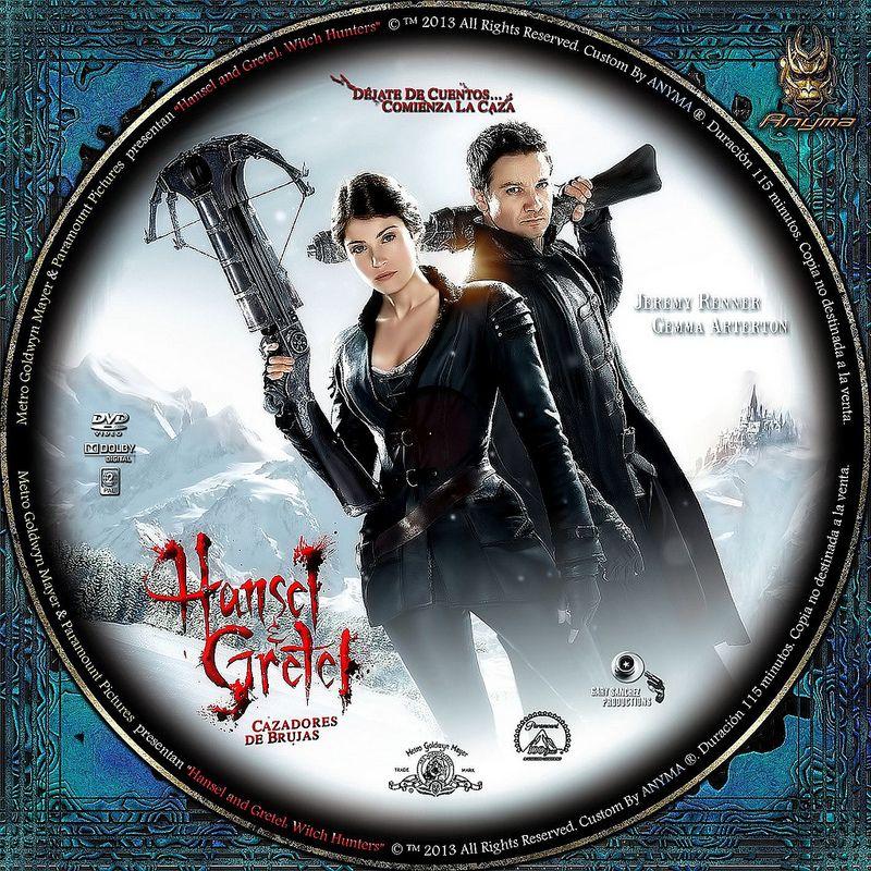 Hansel Y Gretel Cazadores De Brujas 2013 In 2021 Jeremy Renner Movie Posters Witch