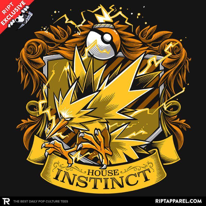 House Instinct - Zapplepuff T-Shirt - Pokémon Go T-Shirt is $11 today at Ript!