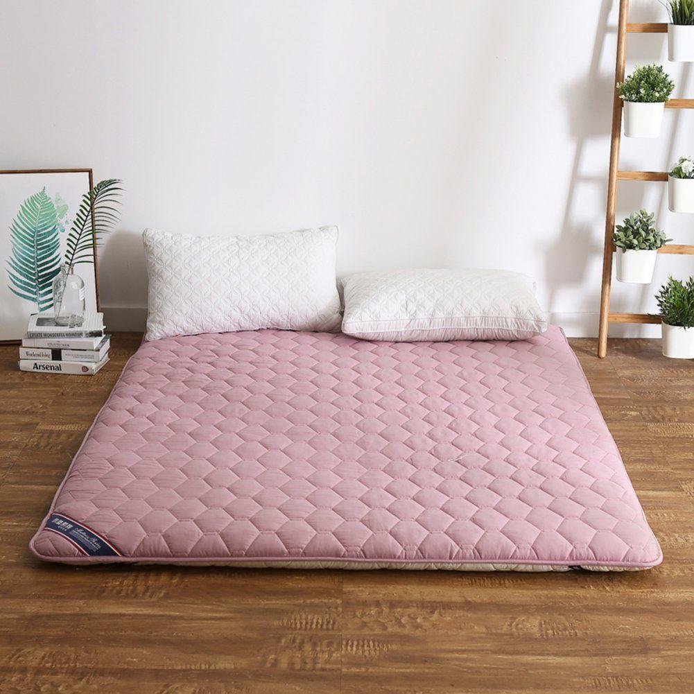Amazon.de: Studentenwohnheim Futon matratze, Tatami tatamimatte Groß  Einzelmatratze-E | Japanisches schlafzimmer, Bodenbetten, Diy matratze