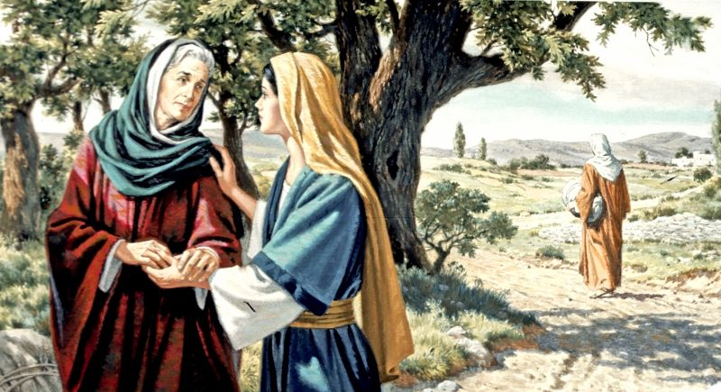 Ruth y Noemí . Una historia maravillosa que está en la Biblia.- | Filha de  deus, Bíblia, Fotos