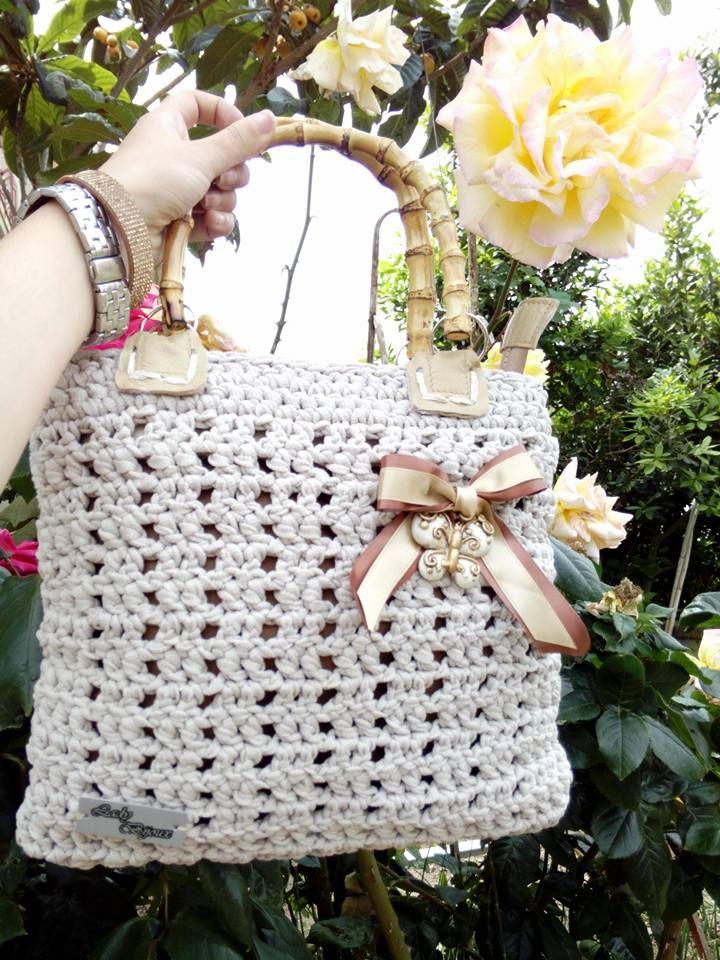 Pin de Punto Alto Crochet Store en Bolsos Tejidos | Pinterest ...