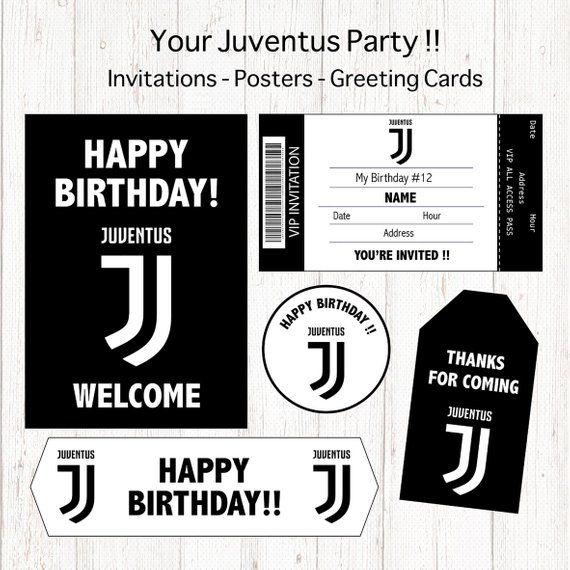 Juventus Party Set Juventus Deco Theme Juventus Party
