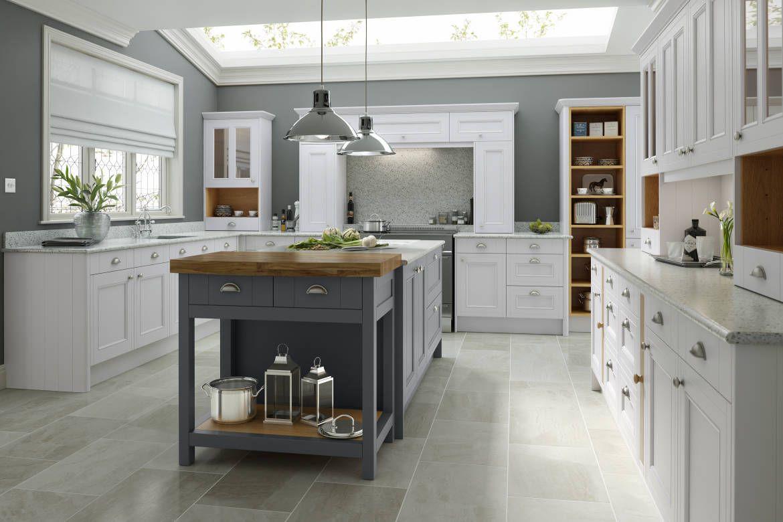 Shaker Ermine Classic Cream Matt Country kitchen designs