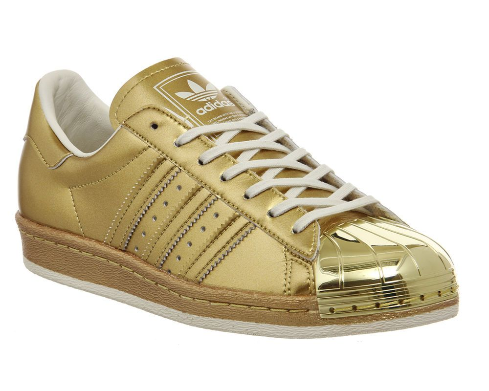 45f7535cb45a Adidas Superstar 80 s Metallic Gold Unisex Limited Edition New in Clothes