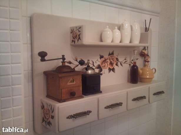 Sprzedam Polka Drewniana Poleczka Kuchenna Bathroom Medicine Cabinet Medicine Cabinet Cabinet