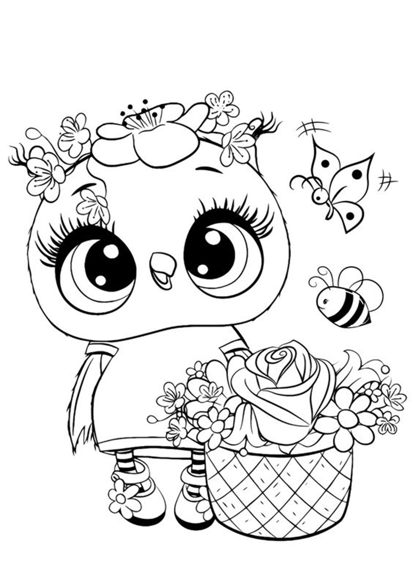 Free Easy To Print Owl Coloring Pages Owl Coloring Pages Animal Coloring Pages Unicorn Coloring Pages