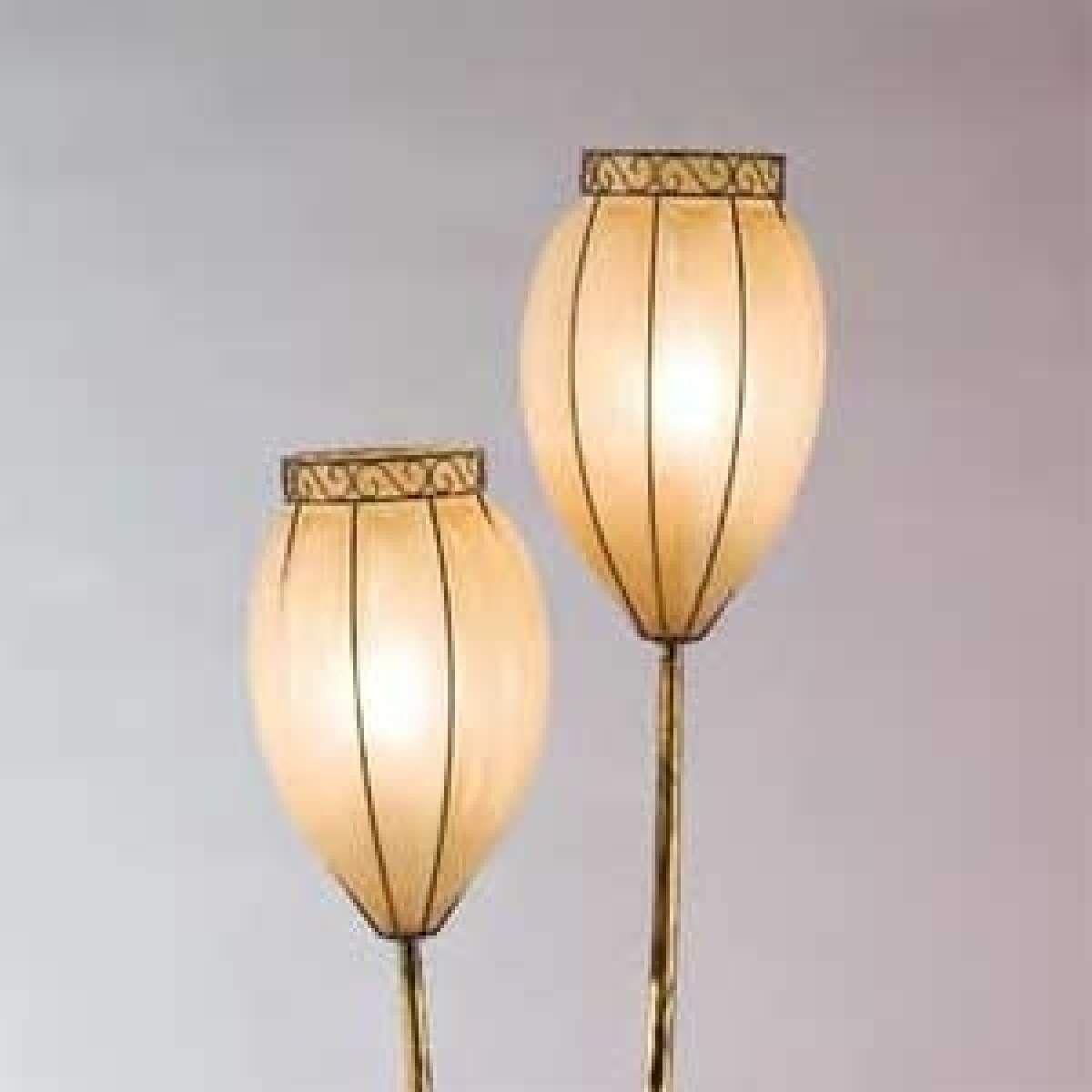 Faszinierend Dreibein Stehlampe Sammlung Von Stehleuchte Holz | Dimmbar | Design Klassiker