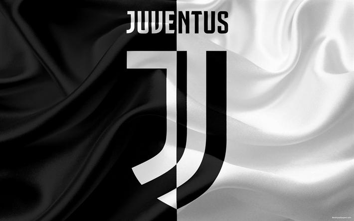 Download wallpapers New Juventus logo, 4k, logo, Juventus ...