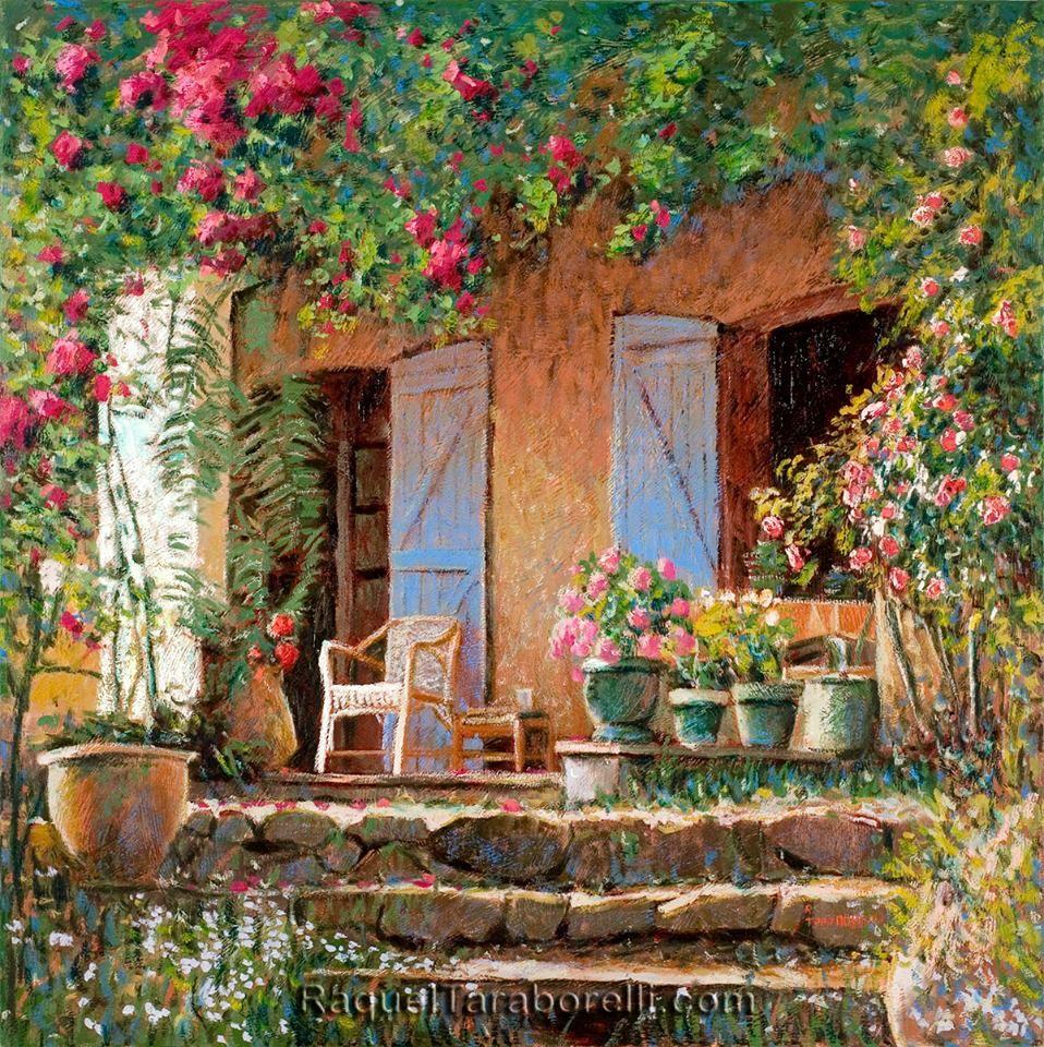 Entardecer 100x100 _ Contemporary Impressionist Fine Art by Painter ...