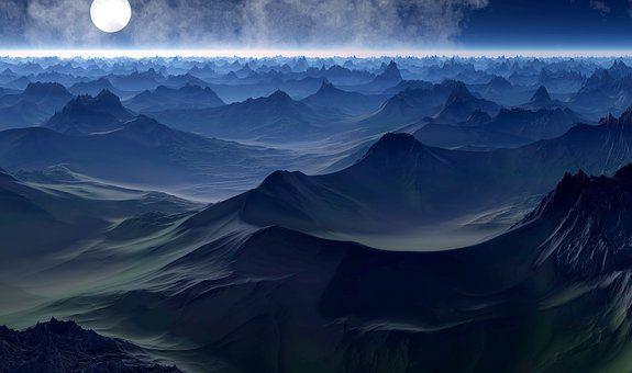 Planet, Discover, Fantasy World