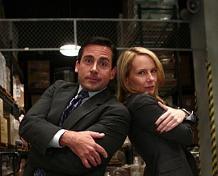 Michael Scott and Holly Flax